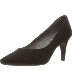 Aerosoles Women's Black Suede Heels Pumps NEW SZ 8